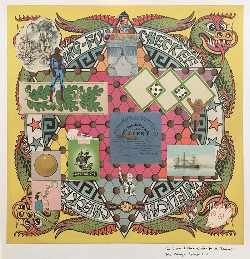 Ashbery, The Checkered Game of Life, for Joe Brainard 2016