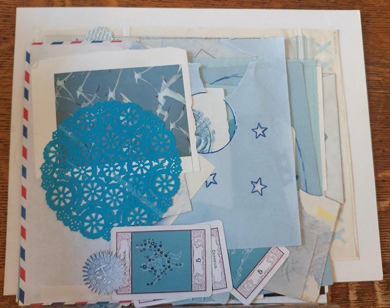 Blue fragments