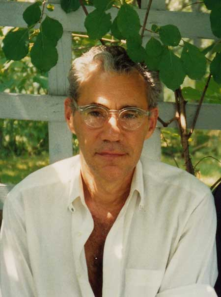 Joe Brainard in Vermont (photo by Ron Padgett)